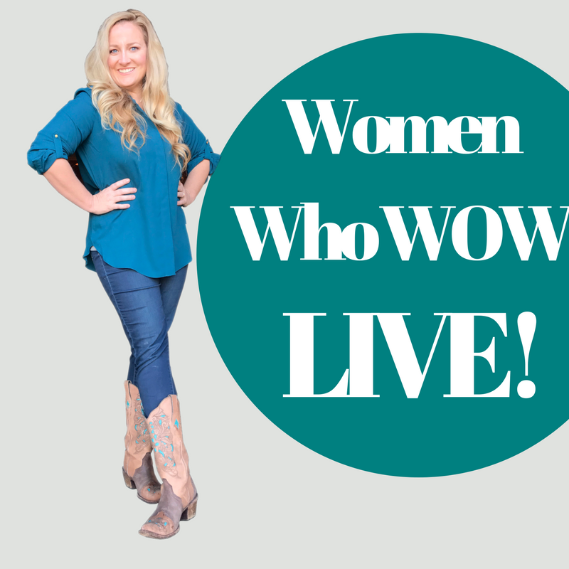 The (Real) POINT of Women Who WOW LIVE!