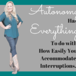 Business Autonomy: How Do You Accommodate Interferences?